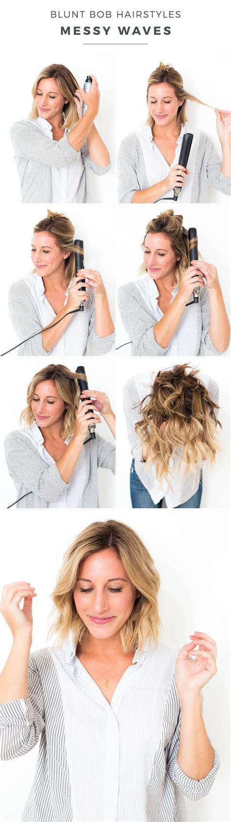 tutorial wavy bob 25 best ideas about side curls hairstyles on pinterest