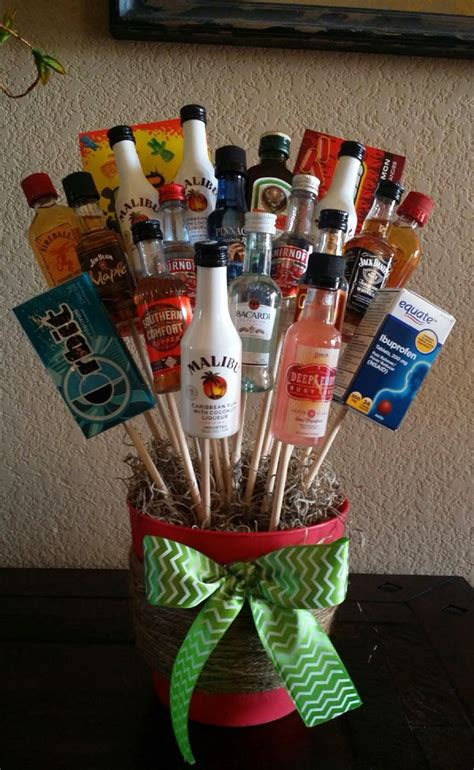 best 25 liquor bouquet ideas on pinterest alcohol