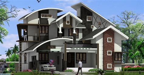contemporary home designs for kerala 2320 sq ft double floor contemporary home designs