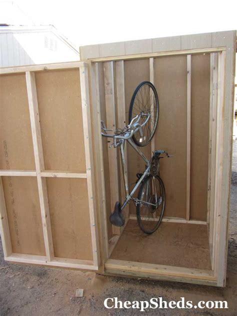 vertical bike shed