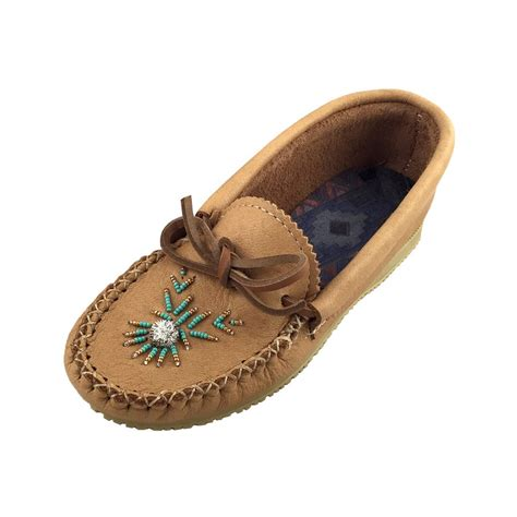 moccasins shoes for s genuine moosehide leather beaded moccasin shoes