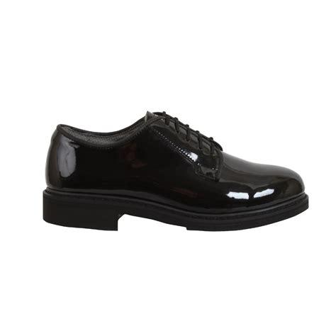 black oxford dress shoes high hi gloss black oxford band parade