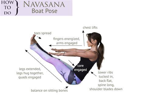 tips for navasana yogabycandace - Boat Pose Tips