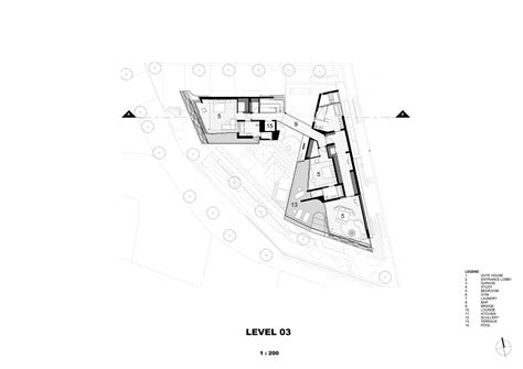 Architecture Floor Plans Gallery Of Clifton 2a Saota 12