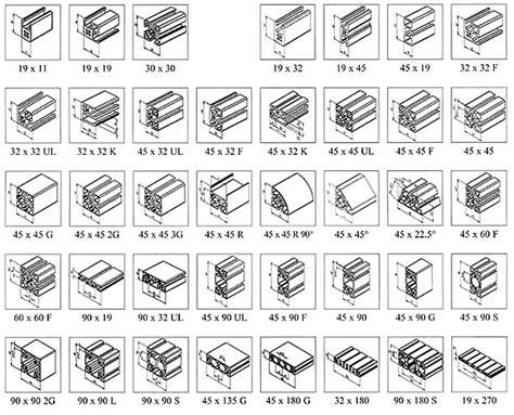 Profilé Alu En U 3490 by Profile Aluminiowe Metal Master