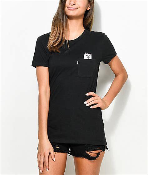 Kaos T Shirt Ripndip Lord Nermal Pocket Pink ripndip lord nermal black pocket t shirt