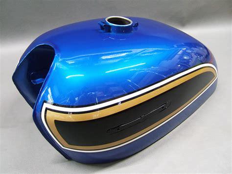 Blue Sapphire Sapire 008 honda cb750 k6 painted tank side cover panel set