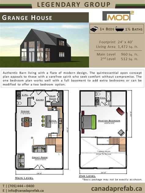 Modern Home Plans   Modern Prefab Home Designs