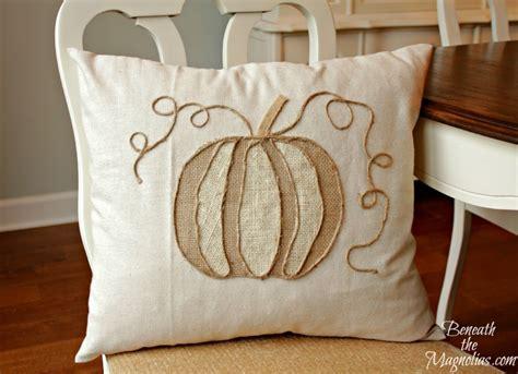 Pottery Barn Pumpkin Pillow by Pottery Barn Hacks
