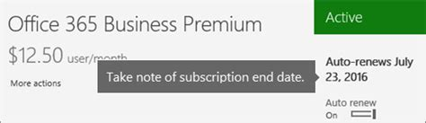 Office 365 Your Subscription Has Expired What Happens To My Data And Access When My Office 365 For