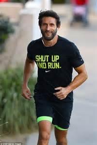 Nike Shut Up And Run T Shirt jonathan lapaglia jogs through bondi as he prepares for