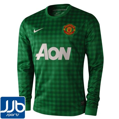 Jersey Manchester United Gk Home 11 12 manchester united mens home goalkeeper jersey 2012 13 ls