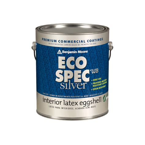 benjamin moore eco spec 474 eco spec 174 wb silver eggshell интериорен латекс със