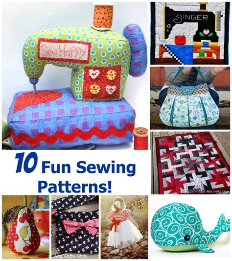 sewing pattern ideas free fun sewing projects