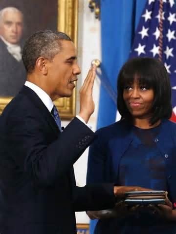 barack obama takes oath of office abc news australian