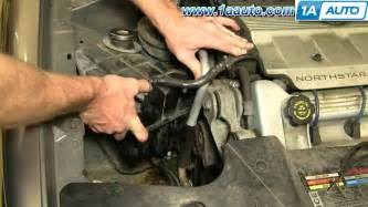 97 Cadillac Overheating How To Install Replace Radiator Coolant Tank Cadillac