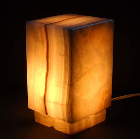 Beverage Coasters Square Onyx Lamps