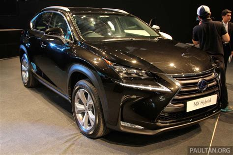 lexus nx malaysia lexus nx launched in malaysia from rm299k rm385k image 307991