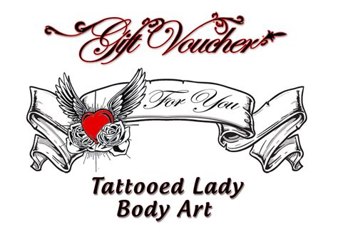 printable tattoo voucher cool tattoo gift certificate template images exle
