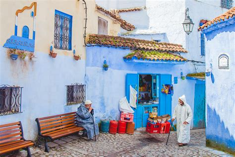 the about morocco s blue city chefchaouen