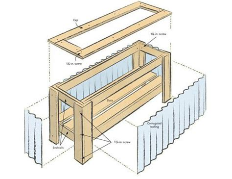 wooden planter plans diy urban planter box plans fresh home ideas planter