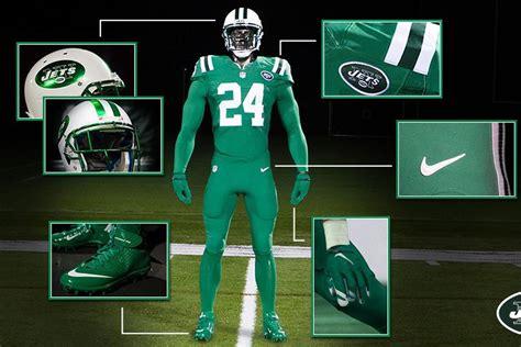 new york jets colors nfl reveals jets new color uniforms green nation