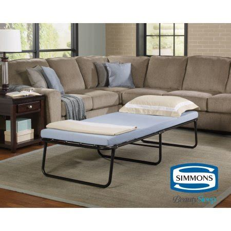 simmons beautysleep foldaway guest bed milwaukee brewers baby cap price compare