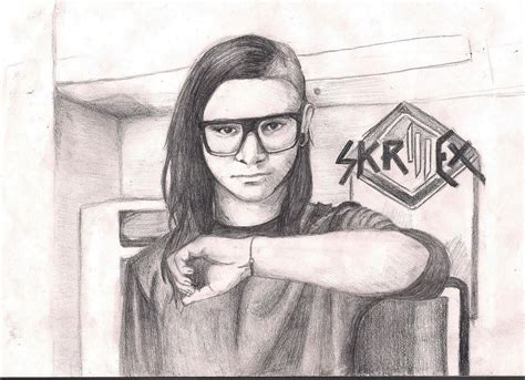 imagenes de skrillex para dibujar a lapiz skrillex 2 by zoorka on deviantart