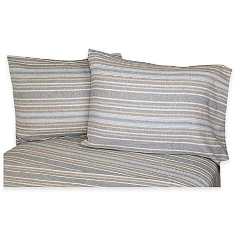flannel sheets bed bath and beyond belle epoque la rochelle collection herringbone heathered