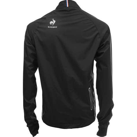 Le Coq Sportif Jacke by Le Coq Sportif 2014 Windproof Jacket Montech Black Alltricks
