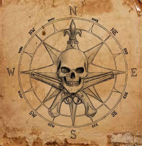 compass tattoo vorlagen pirate compass symbol by dashinvaine on deviantart
