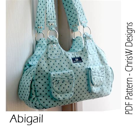 sewing pattern handbag instant download handbag sewing pattern pdf