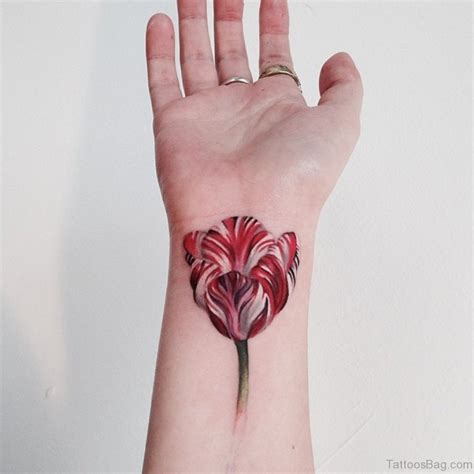 72 fantastic flower tattoos for wrist