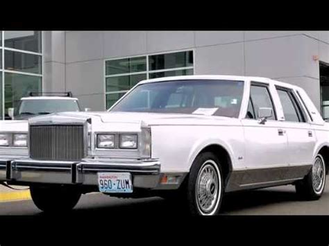 free car manuals to download 1984 lincoln town car seat position control 1984 lincoln town car olympia wa youtube