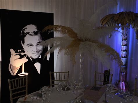 great gatsby themes time prego events 1920 great gatsby themed event