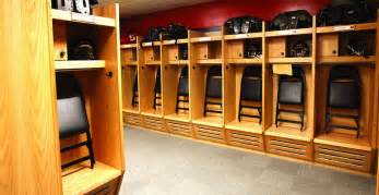 lockers for room wood lockers recruiter open front athletic lockers