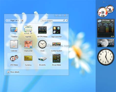 want desktop gadgets on windows 8 get them with