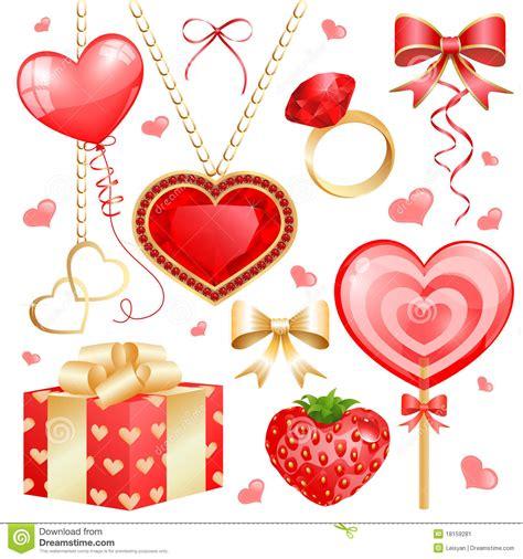 valentines sets set for valentines day stock image image 18159281