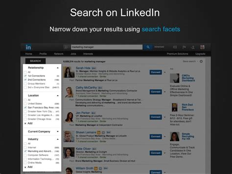 Search For On Linkedin Search On Linkedin Narrow