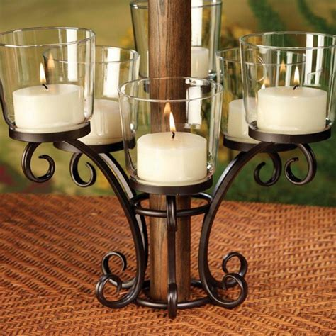 patio umbrella candle holder patio umbrella votive candle holder outdoor furniture
