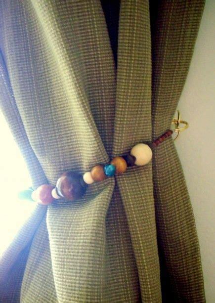diy curtain tie backs diy curtain tie backs living made easier pinterest