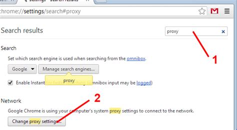 chrome proxy settings best guide to set up and configure your proxy settings