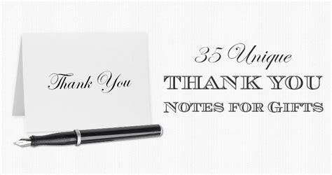 thank you note for gift 35 unique thank you notes for gifts sles the gift