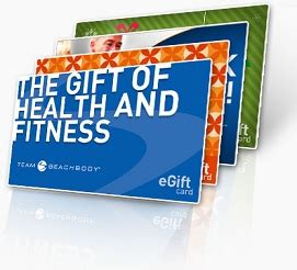Team Beachbody Gift Cards - shakeology and free 25 e gift card