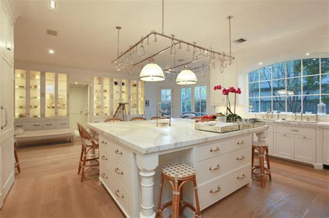 oversized kitchen island oversized kitchen island transitional kitchen cote