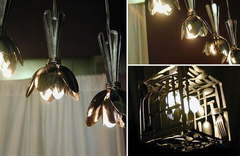 Spoon Chandelier Diy 21 diy ls chandeliers you can create from everyday objects bored panda