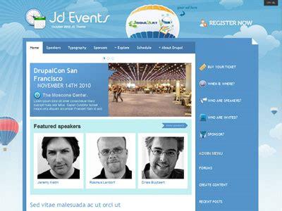 theme drupal event jd events drupal theme for conferences event drupalcon