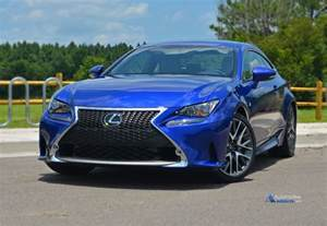 Lexus Fsport 2015 Lexus Rc 350 F Sport Review Test Drive
