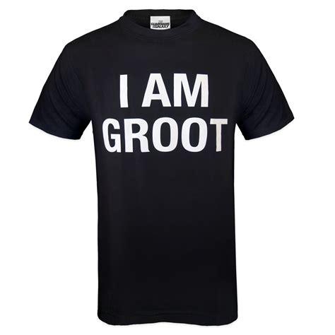 T Shirt Pria Groot Guardians Of The Galaxy 1 marvel guardians of the galaxy rocket groot official gift mens t shirt ebay