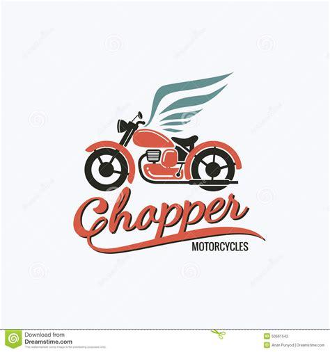 design a motorcycle logo orange chopper motorcycle logo stock vector image 50561542